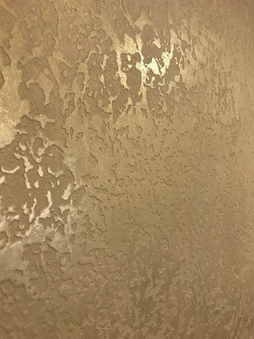 воск с перламутром для стен фото этом стиле граничит